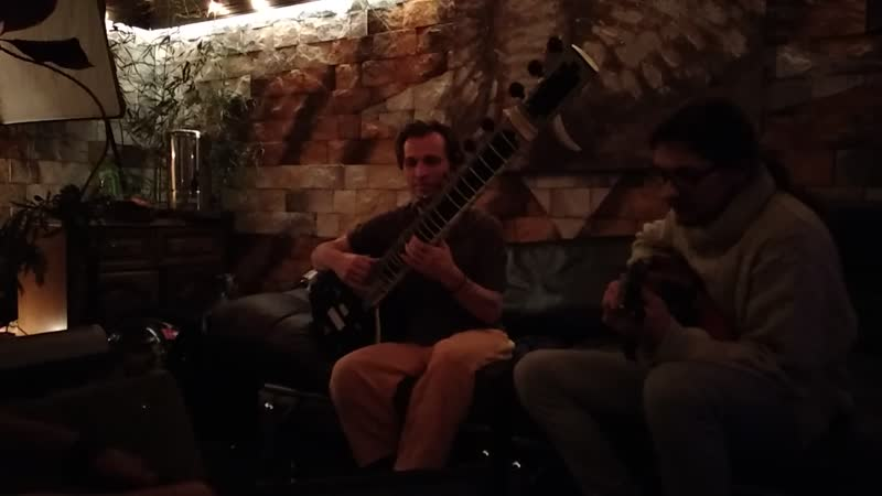 Ситар, гитара, перкуссия и клавиши