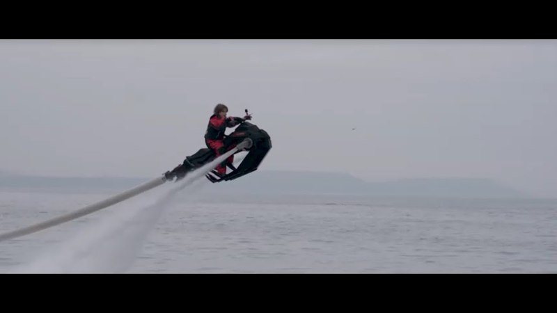 Flyride - The new flying water jet bike from Zapata