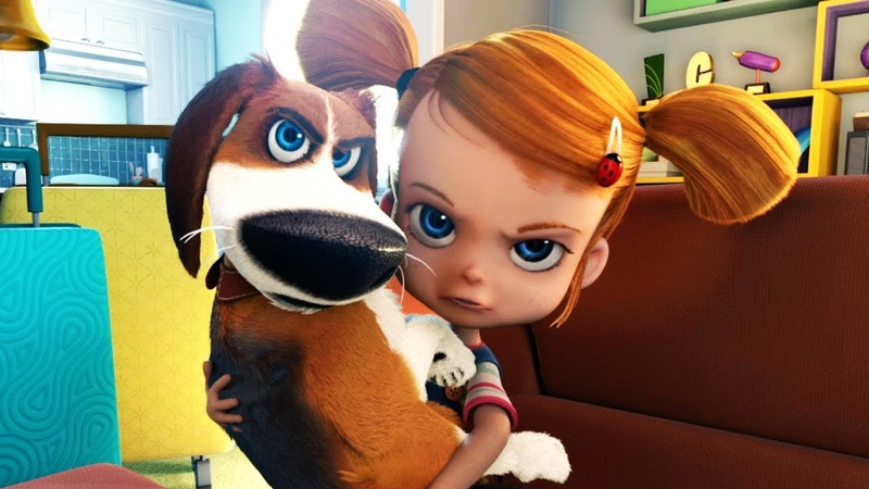 Новый мультфильм 2018 - Большой собачий побег