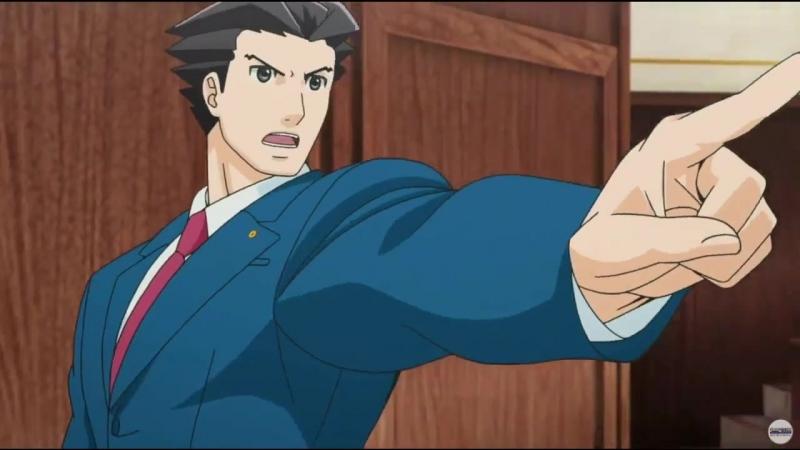 Ace Attorney 2   Переворотный суд 2 - трейлер.