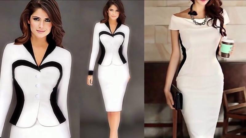 Самые модные платья, которые МГНОВЕННО СТРОЙНЯТ-200 ФОТОВесна Лето 2019Платья с оптическим ОБМАНОМ