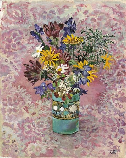 Edith ramer, Эдит КРАМЕР (29 августа 1916 -2014)  известная австро-американская художница и педагог, по праву считается одним из основателей арт-терапии.