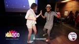 Frankie Martinez and Veronika Krum Salsa Dancing in Mambolove, Monday 11.06.2018