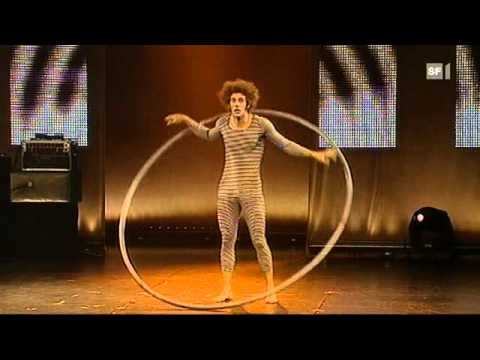 Young Stage Circus Festival Basel 2010: Maxime Pythoud (Roue Cyr)