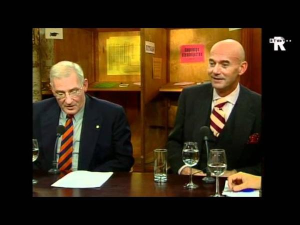 Pim Fortuyn wint verkiezingen in Rotterdam (Uitzending TV Rijnmond) - YouTube