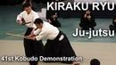Kiraku-ryu Ju-jutsu - 41st Kobudo Demonstration 2018