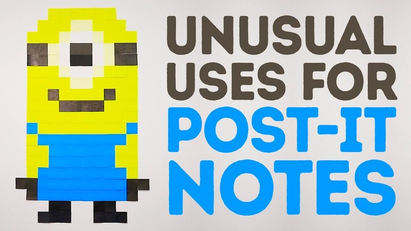 Unusual, yet genius uses for Post-it notes l 5-MINUTE CRAFTS