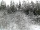 Из Луги в СПб на электричке.10.12.2017г. 12.06