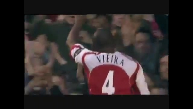 Патрик Виейра Арсенал гол в ворота Эвертона 2005 год