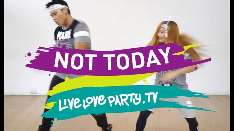 Not Today by BTS | Zumba | Live Love Party | Dance Fitness | KPop