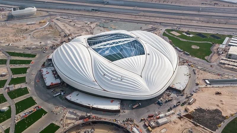 Строительство к ЧМ-2022 стадиона Al Wakrah, г. Аль-Вакра, Катар.