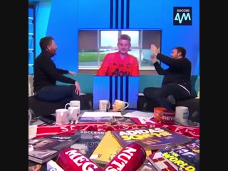 Ole misses Soccer AM