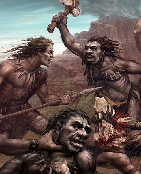 Куда делись неандертальцы Война с кроманьонцами Тайна исчезновения неандертальцев вот уже много десятилетий волнует учёных-историков. Согласно историческим находкам, неандертальцы это не предки