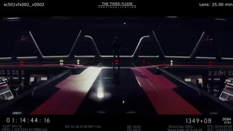 DELETED SCENE: Kylo awaits Rey aboard the supremacy