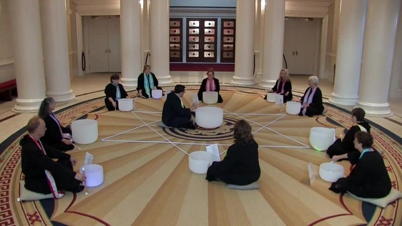 Мантра СО ХАМ под хрустальные поющие чаши (Медитация)