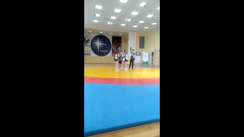 Соревнования в Петрозаводске. Парный стант