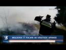 MOLDOVA 17 FOCARE DE VEGETAȚIE APRINSĂ
