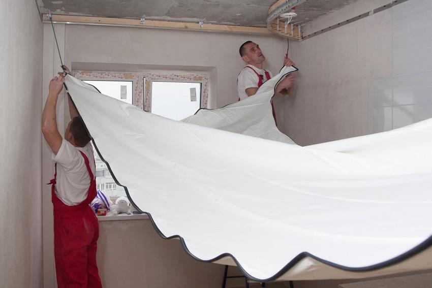 Пленочный потолк