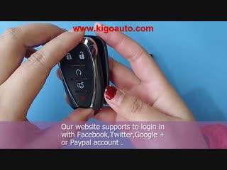 K8170102 Smart key case 5 button for 2017 Chevrolet Sonic