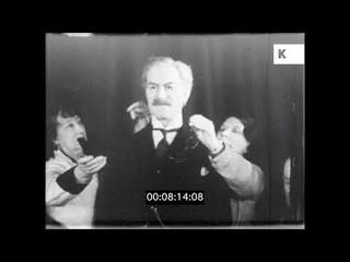 Madame Tussauds Make Waxworks of 1930s Cabinet, UK, HD