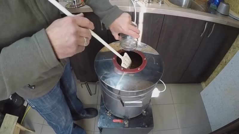 Обзор приготовления Хлебного вина Полугар, из набора Alcoff. Видео 18