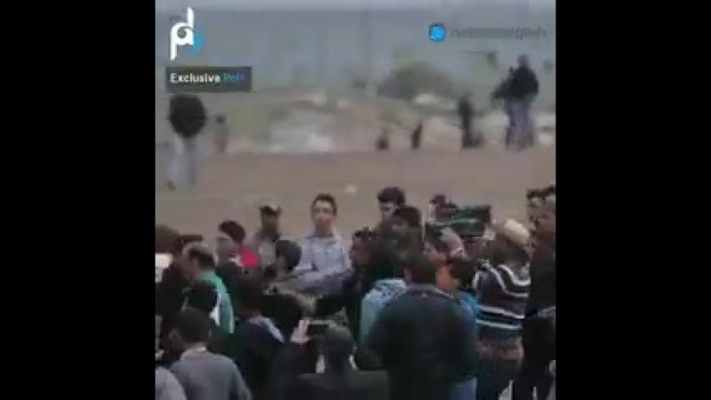 GAZA OFFRE UNE LEÇON DE PATRIOTISME A CEUX QUI PRÉTENDENT AIMER LEUR PAYS