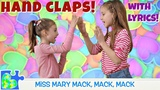 RHYMES AND HAND CLAPS! Miss Mary Mack Lemonade Double Double This This (HD with LYRICS)