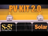 S-5!'s PV Kit 2.0 improves installation speed on metal roof solar projects