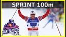 Cross country skiing Sprint 100m Northug Show Janteloppet 04 12 2019