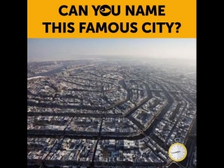 Can you name the famous city?