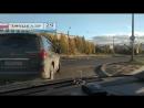 Архангельск. Две сплошные - не проблема для короля дорог на лексусе М901ОВ-29.