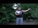 Дмитрий Халаджи Бросок ядра весом 56 кг на шею