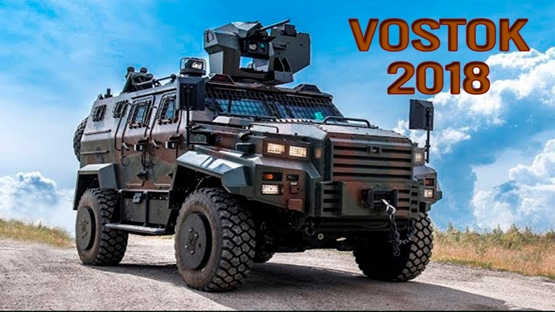 VOSTOK 2018 Military Exercise in Action