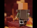 The Nether Fight - LEGO Minecraft
