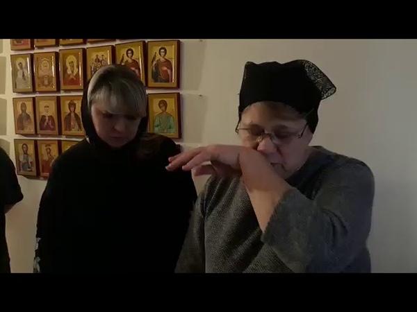Прощание матери Татьяны с Сергеем сыном 21 01 2019