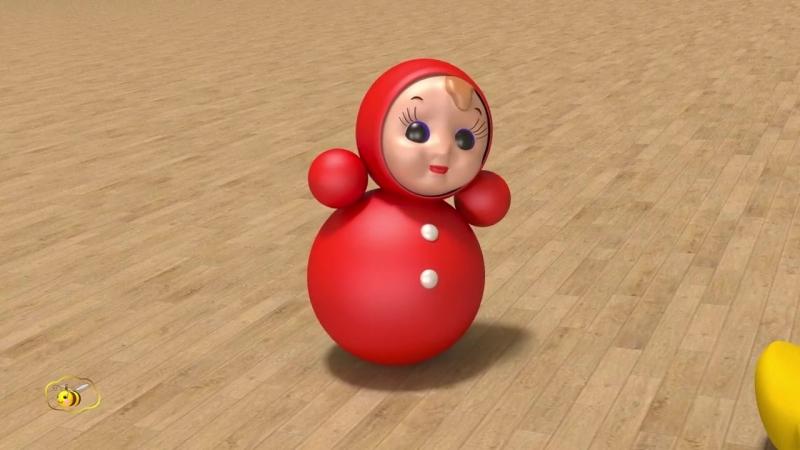 Развивающие мультики для самых маленьких. Игрушки для малыша - 2. Учим названия