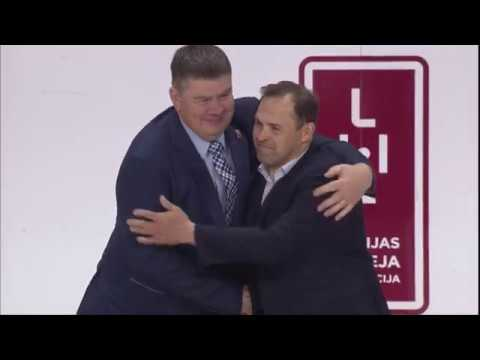 ARTURS IRBE /JERSEY RETIREMENT / LATVIAN NATIONAL ICE HOCKEY TEAM