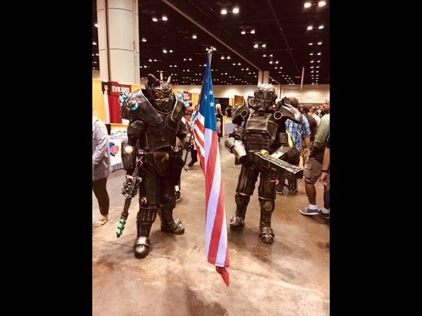 Fallout Cosplayers Invade MegaCon Orlando 2018!