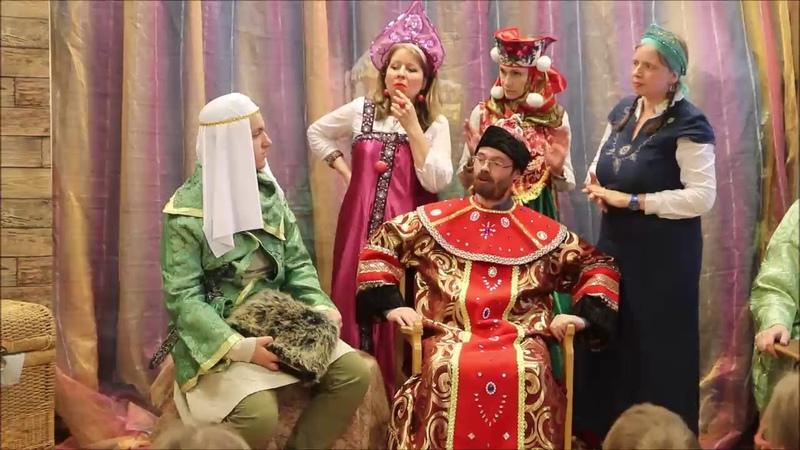 Спектакль Сказка о царе Салтане. 19.05.2019 г. Первый показ