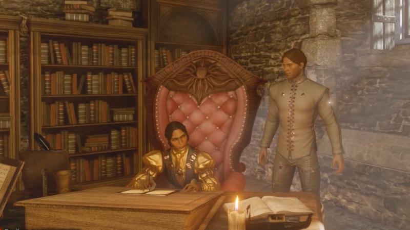 Dragon Age: Inquisition — Прощание с Жозефиной » Freewka.com - Смотреть онлайн в хорощем качестве