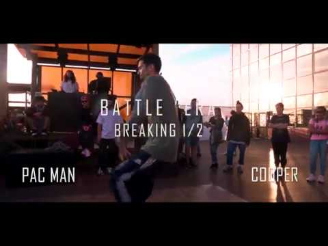 BATTLEERA BREAKING 1/2 PAC MAN vs COOPER