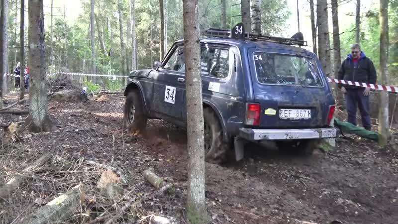 4x4 SUVs in Off-Road race _ Antsumae 2016