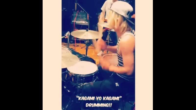 [Instagram] WANI (@drums_wani) (18.04.2016)