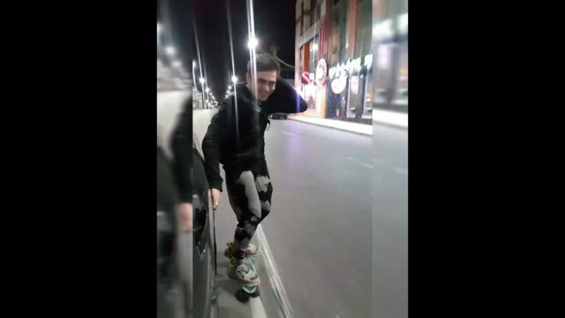 Гонки на скейтборде