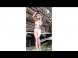 Наталья Андреева снимается для календаря Playboy 2019