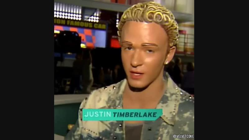 N SYNC перевоплотились в кукол для их музыкального клипа It's Gonna Be Me, 2000 год