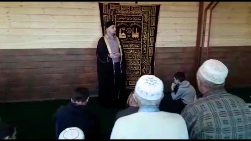 открытие мечети в селе Батрак