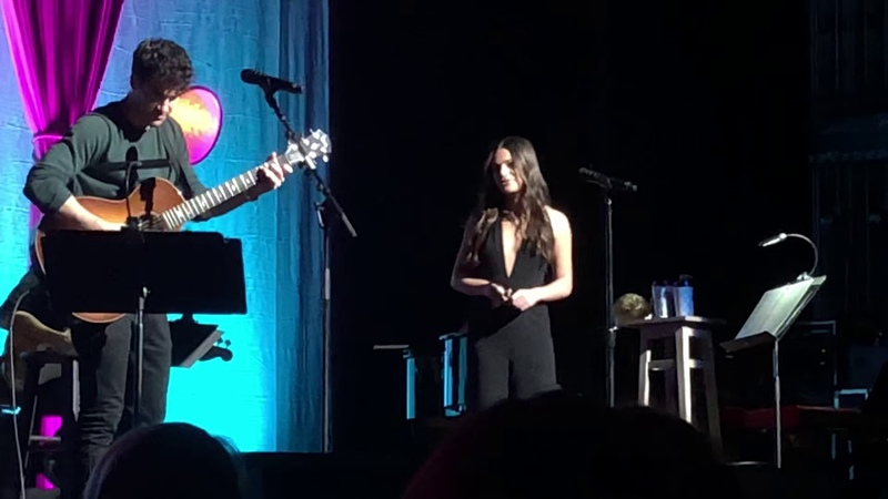 Lea Michele and Darren Criss- The Shallow LMDC Tour 11/05/18 Ace Hotel Theater