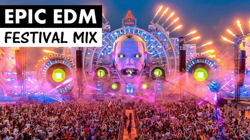 EPIC FESTIVAL MIX - Best of Progressive House EDM Music 2018