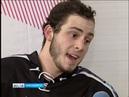 Сюжет ГТРК «Красноярск» о первой игре международного хоккейного турнира «Student Hockey Challenge» с комментариями Максима Машошина